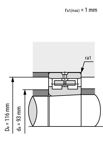 Hochgenauigkeits- Zylinderrollenlager NN30 verbaut