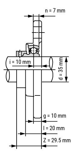 Edelstahl-Flanschlager-Silberserie-SS-KFL Ansicht2