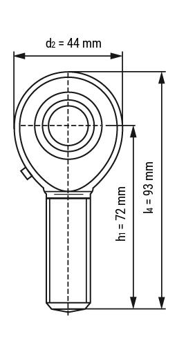 Gelenkkopf TSM