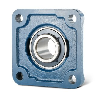 Flange Bearing / Flange Housing Unit UCF201 - Shaft: 12 mm