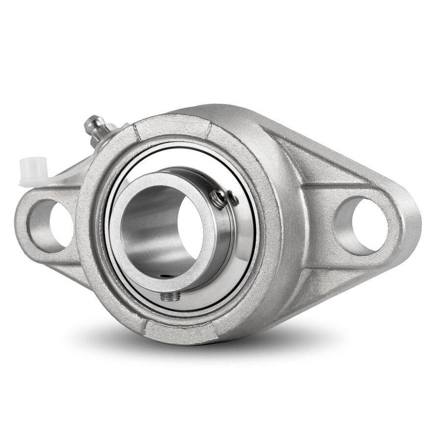 NEW High Quality UCFL205  UCFL205-25MM   25MM Bearing with 2-Bolt Flange
