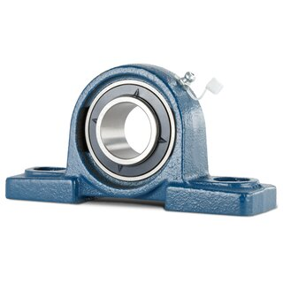Pillow Block Housing Unit with Adapter Sleeve UKP207+H2307 - Shaft: 30 mm