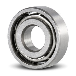 Stainless Steel Miniature Deep Groove Ball Bearing SS MR52 W2 open dry 2x5x2 mm