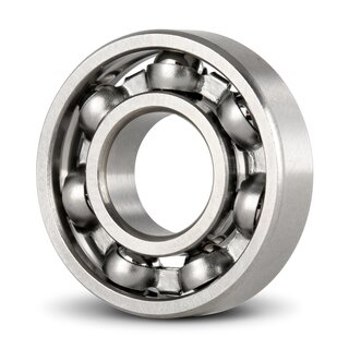 Miniature Deep Groove Ball Bearing Inch R166 open dry 4.763 x 9.525 x 3.175 mm