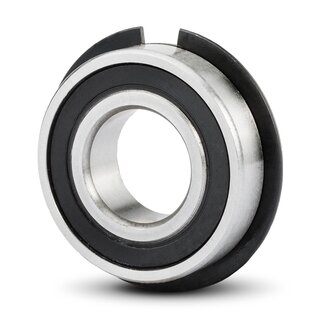 Rillenkugellager 6004 NR 2RS (Nut+Sprengring) 20x42x12 mm