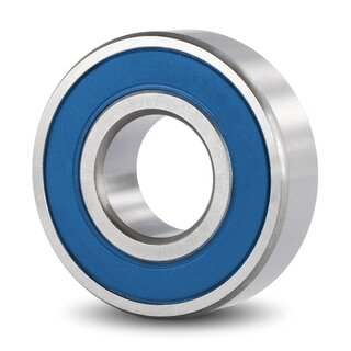 Stainless Steel Deep Groove Ball Bearing SS 6205 C3 2RS 25x52x15 mm