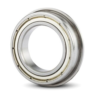 Deep Groove Ball Bearing With A Flanged Outer Ring F 6800 ZZ / F61800 ZZ 10x19x5 mm