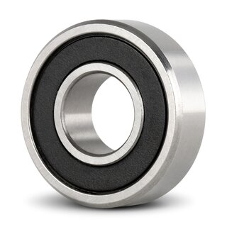 Miniature Deep Groove Ball Bearing Inch R168 2RS 6.35 x 9.525 x 3.175 mm