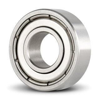 Stainless Steel Miniature Deep Groove Ball Bearing Inch SS R166 ZZ 4.763 x 9.525 x 3.175 mm