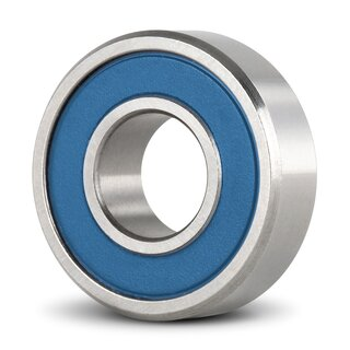 Stainless Steel Miniature Deep Groove Ball Bearing Inch SS R1038 2RS 9.52 x 15.87 x 3.96 mm