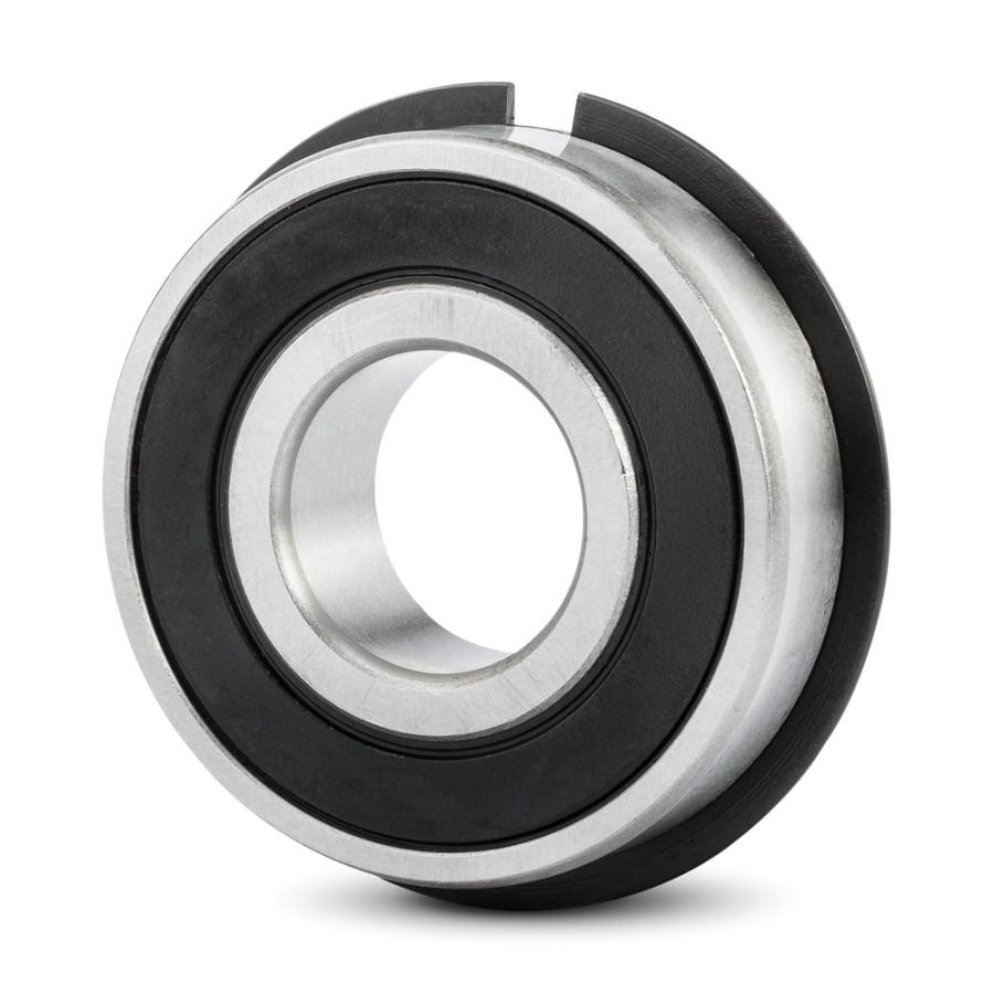 1 IBU Rillenkugellager Nut+Ring  15x35x11 mm Kugellager 6202 ZZ.NR = 2Z//NR