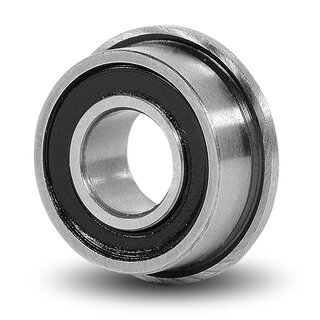 Miniature Flanged Ball Bearing F 688 2RS / F688 2RS 8x16x5 mm