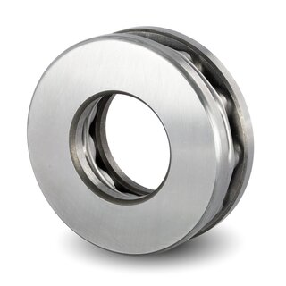 Axial Deep Groove Ball Bearing 51317 85x150x49 mm