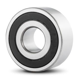 5203-2RS Premium Sealed Double Row Angular Contact Ball Bearing 17x40x17.5mm